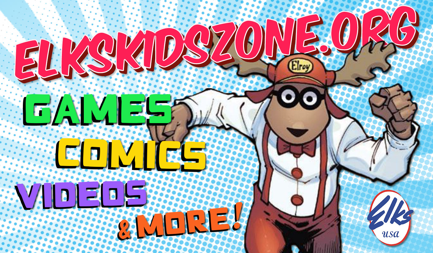 Visit Elks Kids Zone!